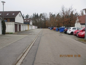 Vollsperrung Amselweg