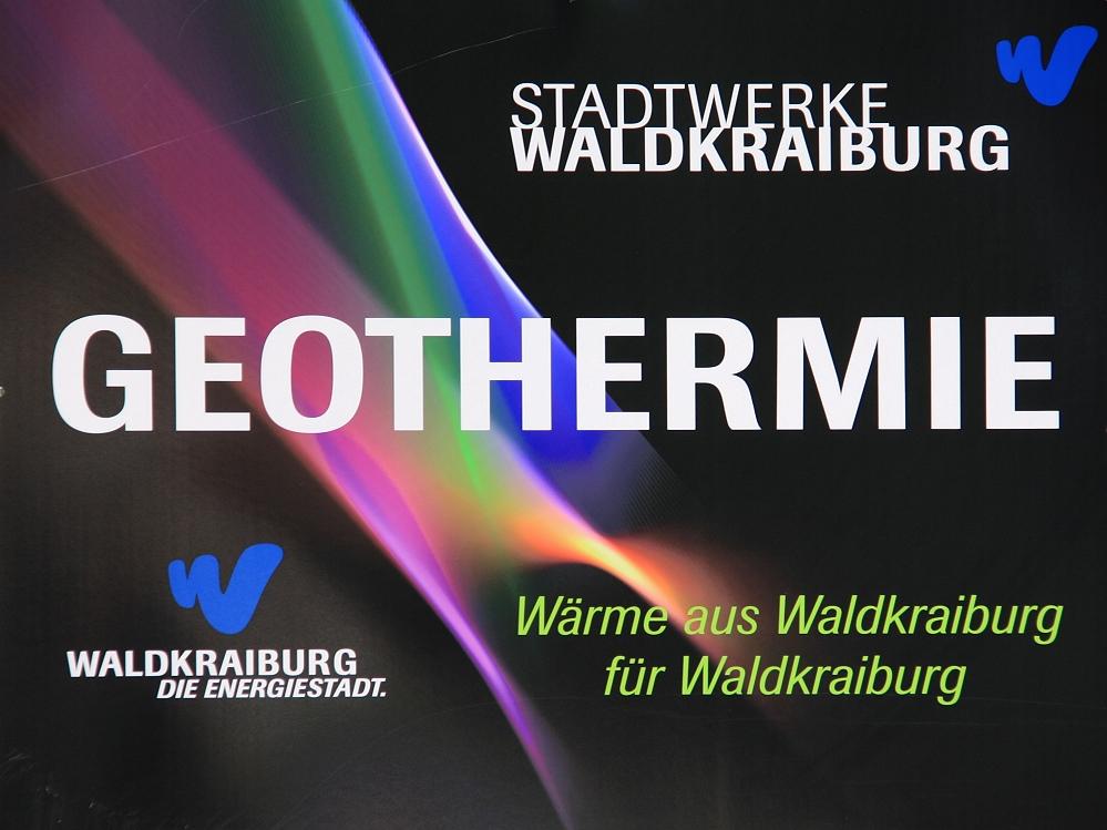 Geothermie - Wärme aus Waldkraiburg für Waldkraiburg