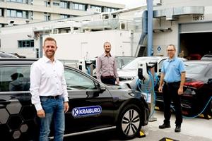Gummiwerk KRAIBURG nimmt E-Ladesäulen in Betrieb