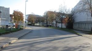 Sperrung Egerländer Straße für Bebauung Iserring