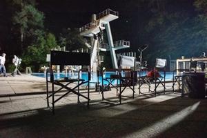 Das Waldbad als Filmort